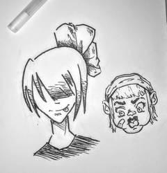 Night Time Doodling  by ParaSyBr