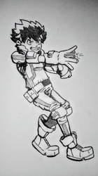 Deku - My Hero Academia by ParaSyBr