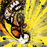 Ken- Dragon Punch by NoBullet