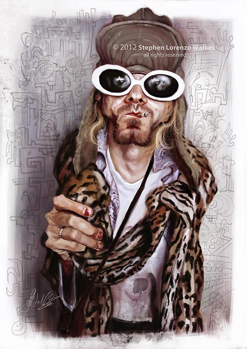 Kurt Cobain by Stephen Lorenzo Walkes by lorenzowalkes