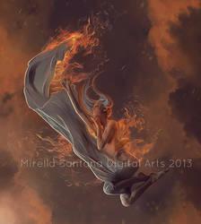 ANGEL OF FIRE by MirellaSantana