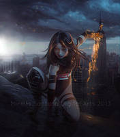 The Guardian III by MirellaSantana