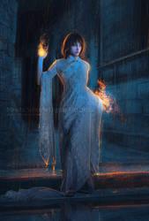 Burning III by MirellaSantana