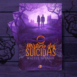 Book Cover -  O misterio dos Suicidas by MirellaSantana