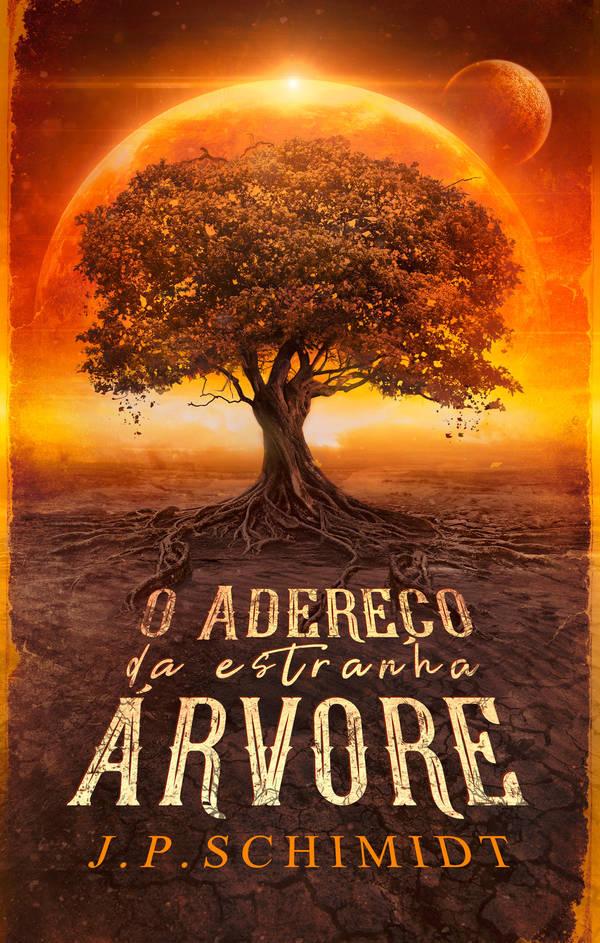 Book Cover - o adereco da estranha arvore by MirellaSantana