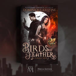 Book Cover - Birds Of A Feather by MirellaSantana