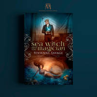 Book Cover - Sea Witch and the Magician by MirellaSantana