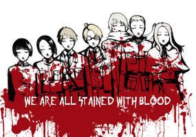 Hetalia: bloodstained by PunPuniChu