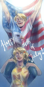 APH: Happy Freedom Day by PunPuniChu