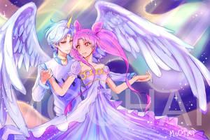 Sailor Moon super S Chibiusa  Helios by MoChaikung