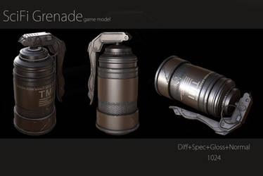 SciFi Grenade by kenetand2