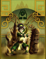 Toph Bei Fong by Mariolord07
