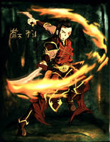 Fire Lord Zuko by Mariolord07