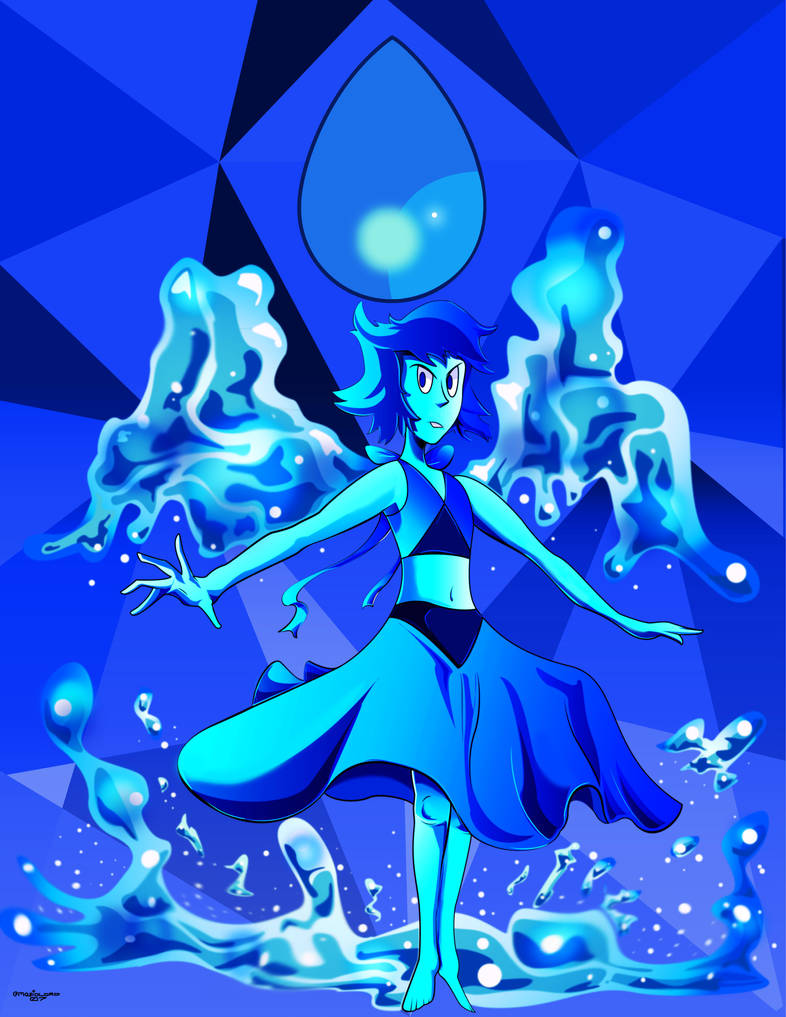Felt like drawing Lapis again. She's one of my favorite gems after all. I'm so glad she's a Crystal Gem now! I was wondering when she would finally join the team. I'll probably update this when Lap...