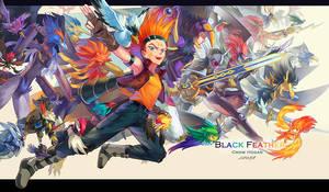 BlackFeather Army by ZealAleph