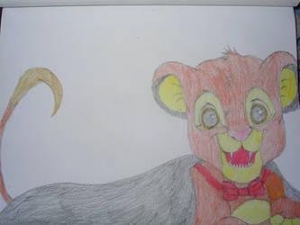 Simba's Halloween Costume by bubblebear79