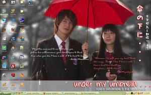Under My Umbrella by adrimarie