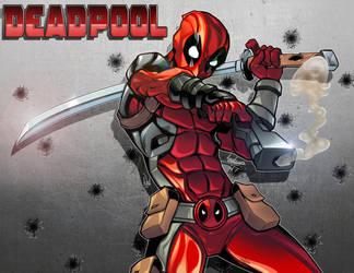 Deadpool - Color by Anderson-07