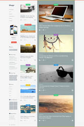 Bloggr - Magazine Template by azyrusmax