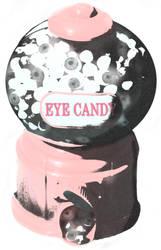 Eye candy (t-shirt design) by patriciahebert