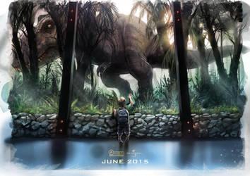 Jurassic World 'nostalgia' fan art - alternative by WEVART