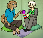 Tea Therapy by iadamska
