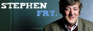Stephen Fry banner by virunee