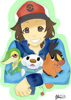 Touya and friends by vinnie-cha