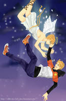 APH - The Falling Star and the Angel by vinnie-cha
