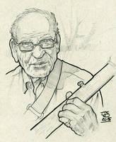 superspin456 uncle banjo pencils inks by jetdog-art