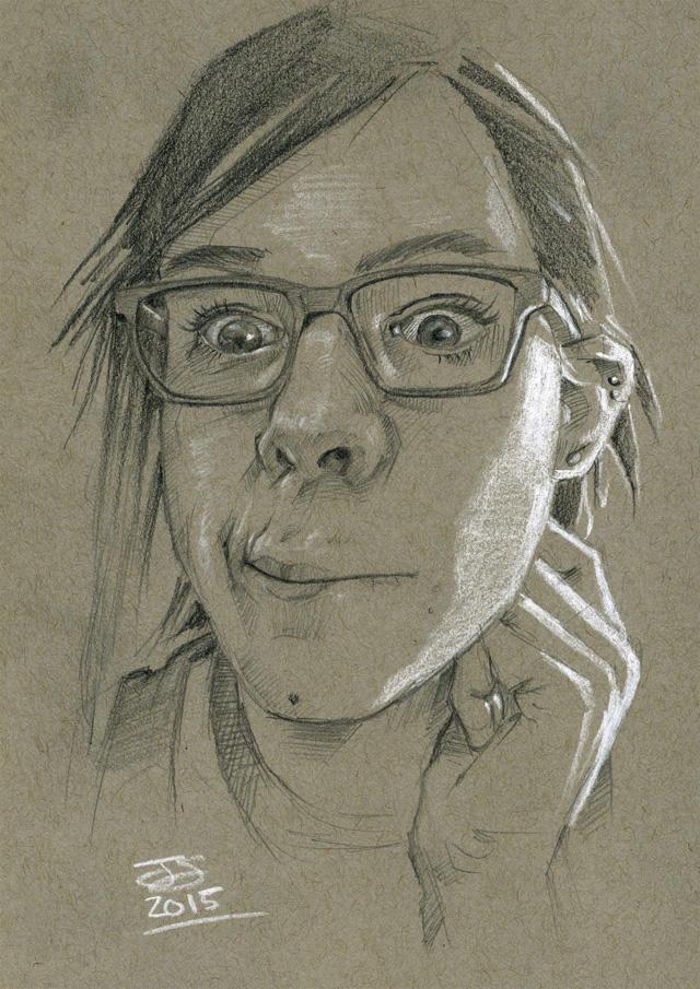 hika-tamari selfie pencils LG by jetdog-art