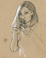 daisylayz bowl pencils WIP by jetdog-art