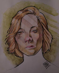 necara angry heiress watercolour ink LG by jetdog-art