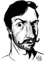 sagaciousturkey drawable digital ink MD by jetdog-art