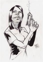 iamrachelj bond girl ink by jetdog-art
