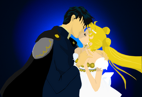 Endymion and Serenity by Narusailor