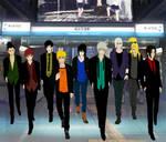 Naruto Boys by Narusailor