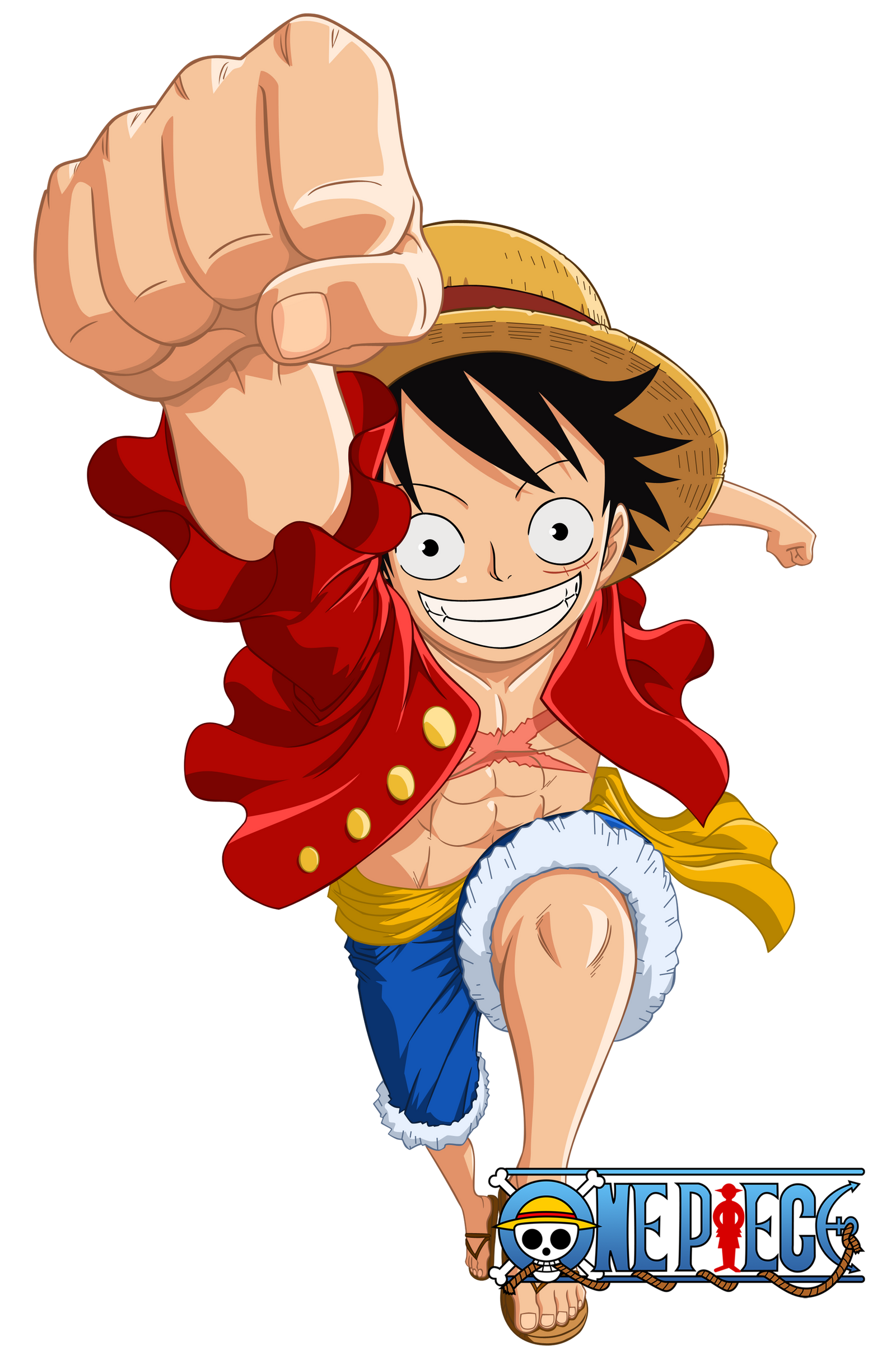 Monkey D. Luffy 2Y by Narusailor