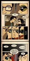 Falling - a boys love mini fan comic by nekojindesigns