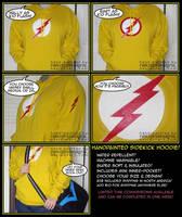 Kid Flash Hoodie - sidekicks need love too! by nekojindesigns