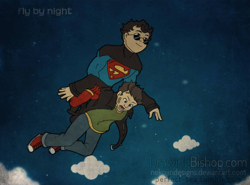 TimKon - Fly By Night by nekojindesigns