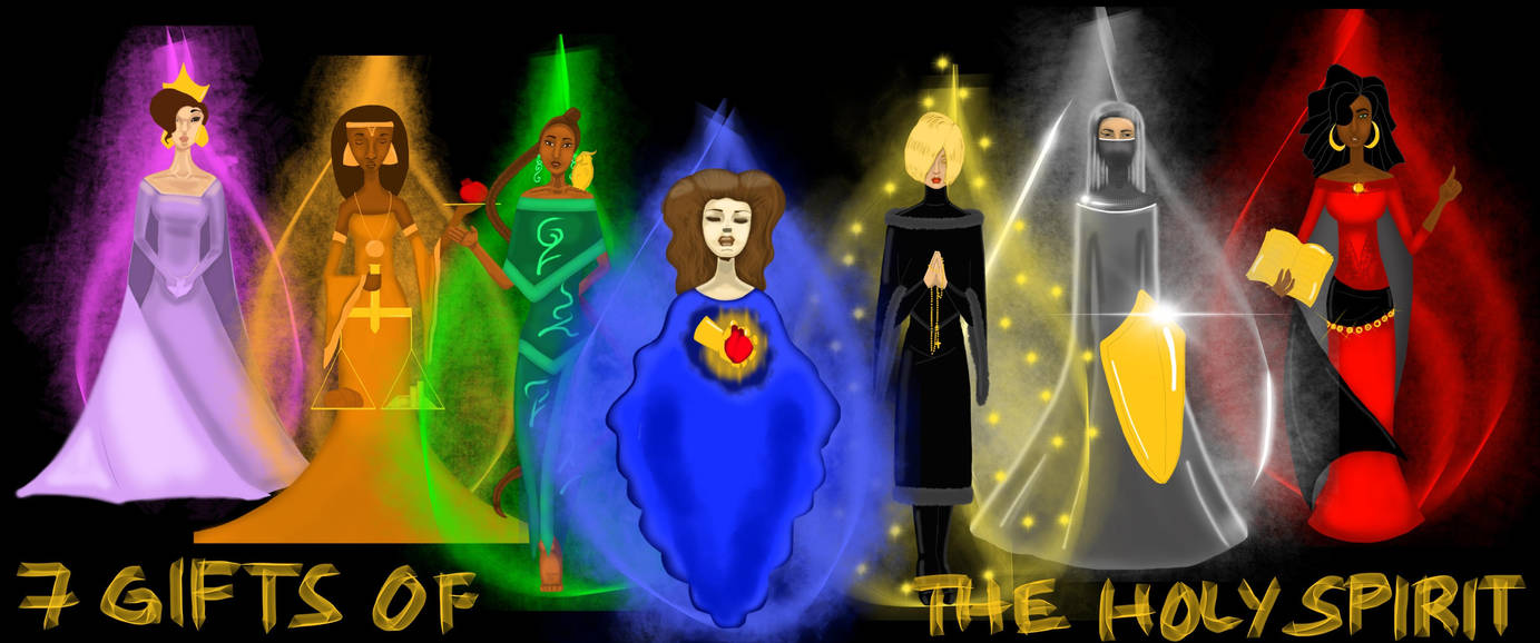 7 Gifts of the Holy Spirit by soulpacifica