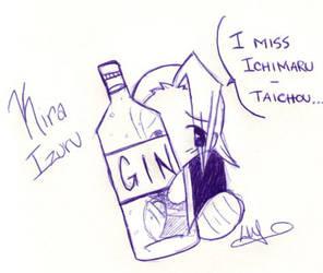 Izuru misses his Gin... by Leena-Erufu