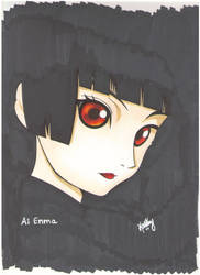 Ai Enma by iris-clow
