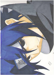 Sasuke Uchiha by iris-clow