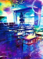 cover art by ASOKO NO SEKI by YUSUKE YAMADA by wataboku