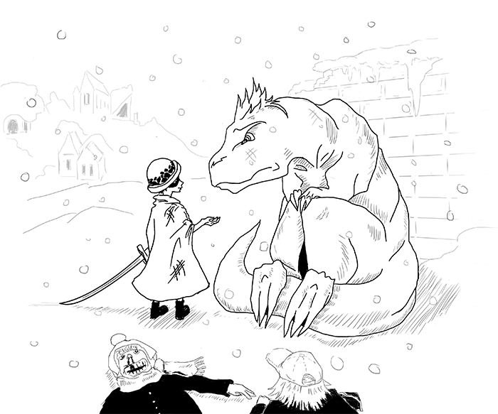 Dinosaur wanted by klekettle