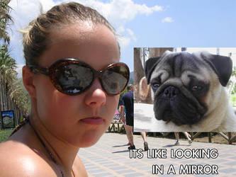 like looking in a mirror by TechNikL