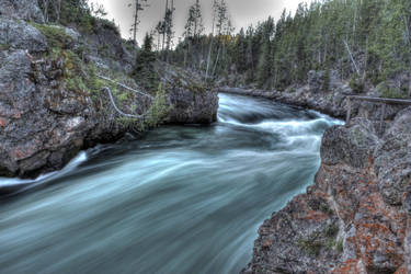 Rushing River by Juglars