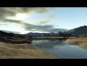 Terragen - Navajo by duris